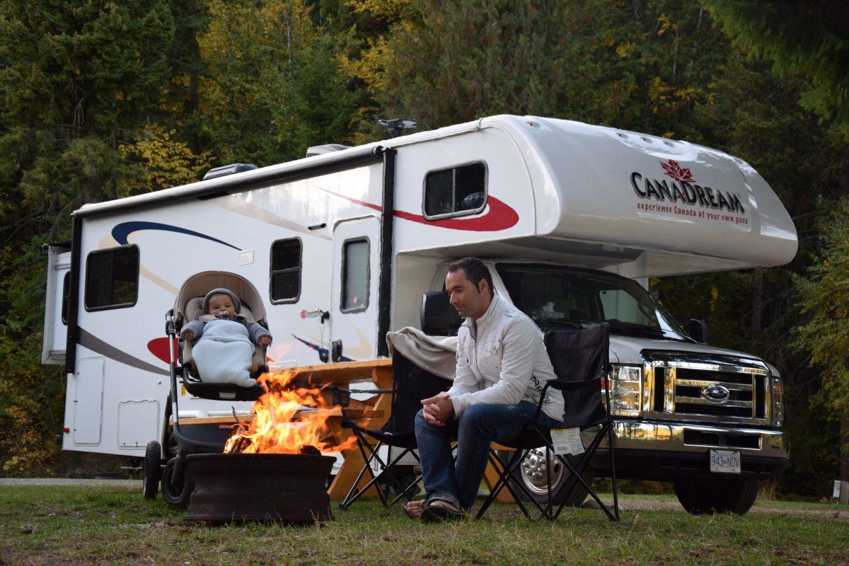 Rondreis door Canada met baby en camper