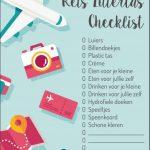 Gratis Download Reis Luiertas Checklist | Kleine Reizigers