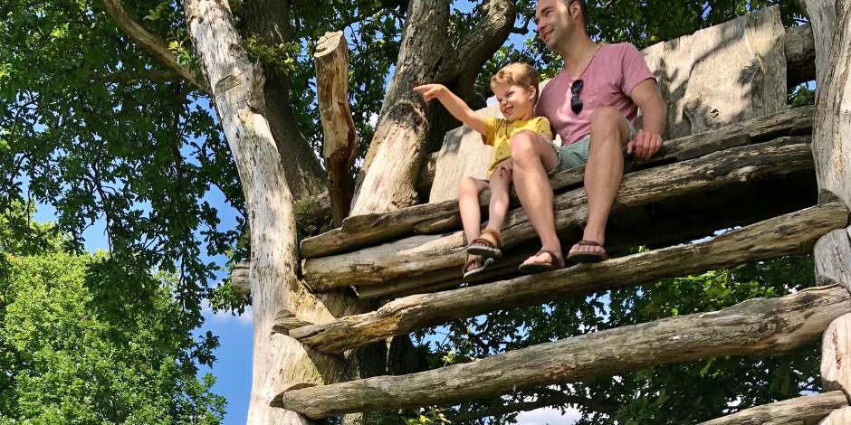 Groningen met kinderen | Natuurspeeltuin de Onlanderij | Kleine Reizigers