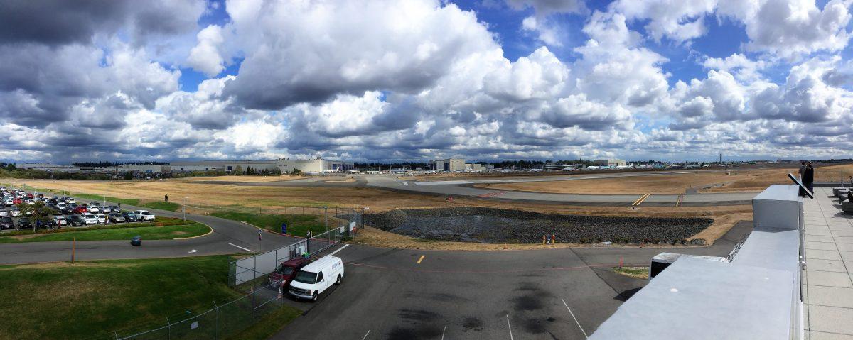 Boeing fabriek | Camper reis door Canada met baby | Reisverslag deel 2 | Kleine Reizigers