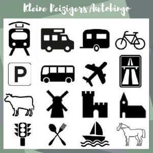 Autobingo | Gratis download | Kleine Reizigers