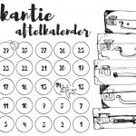 Vakantie aftelkalender | Kleine Reizigers