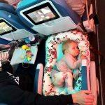 Air Transat met kinderen