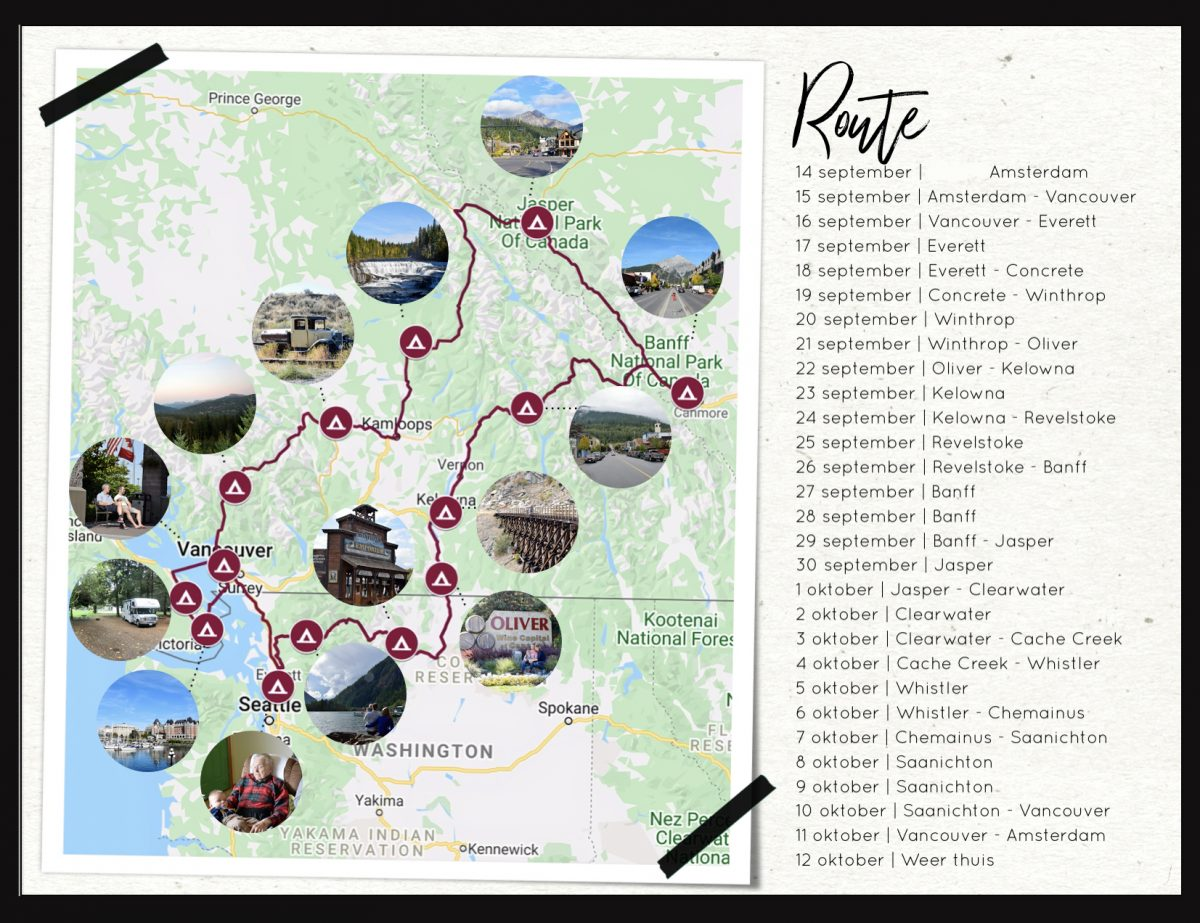 Kleine Reizigers | Maak een routekaart voor in jouw vakantie fotoboek