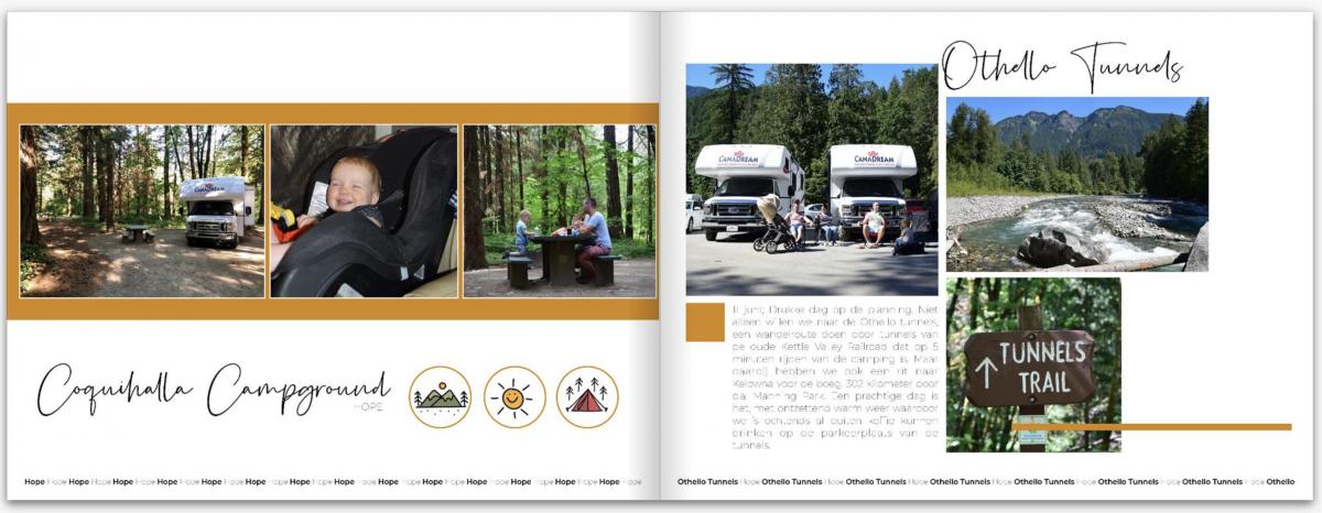 Kleine Reizigers | Voeg (gratis) clip art toe om jouw vakantie fotoboek nog een beetje extra te geven!