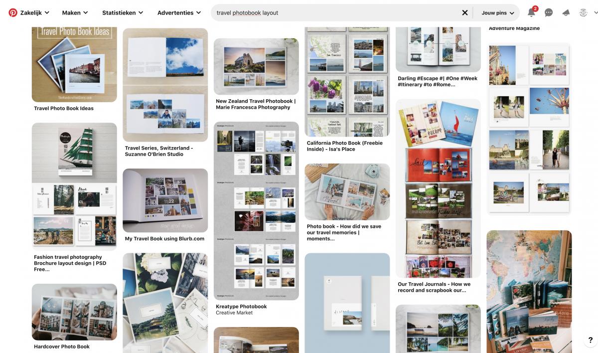 Kleine Reizigers | Zoek voorbeeldpagina's voor je vakantie fotoboek die je na kan maken