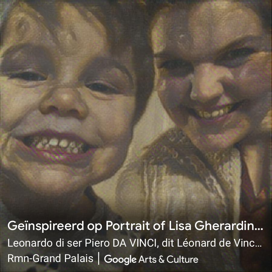 Kleine Reizigers   Staycation tip 1   Wordt je eigen Mona Lisa met de Google Arts & Culture app